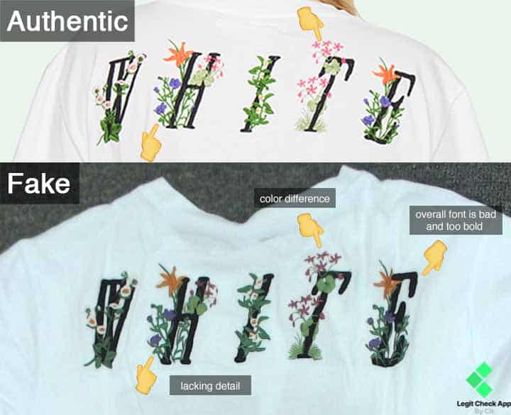 Off-White Floral Print LC
