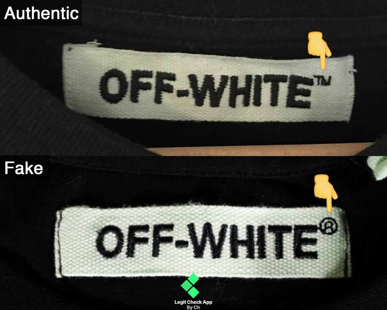 How To Spot Fake Vs Real Off White Clothing (Works For Any Off White)