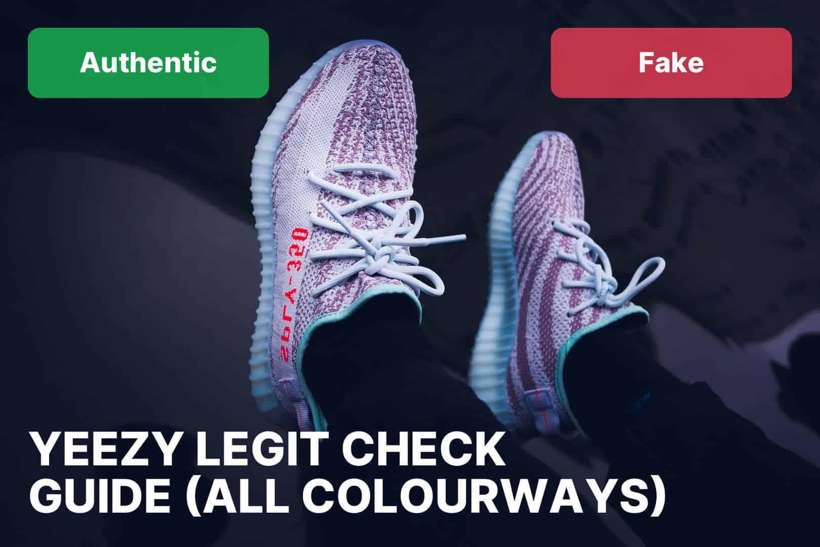 yeezy boost 350 v2 real vs fake comparison guide