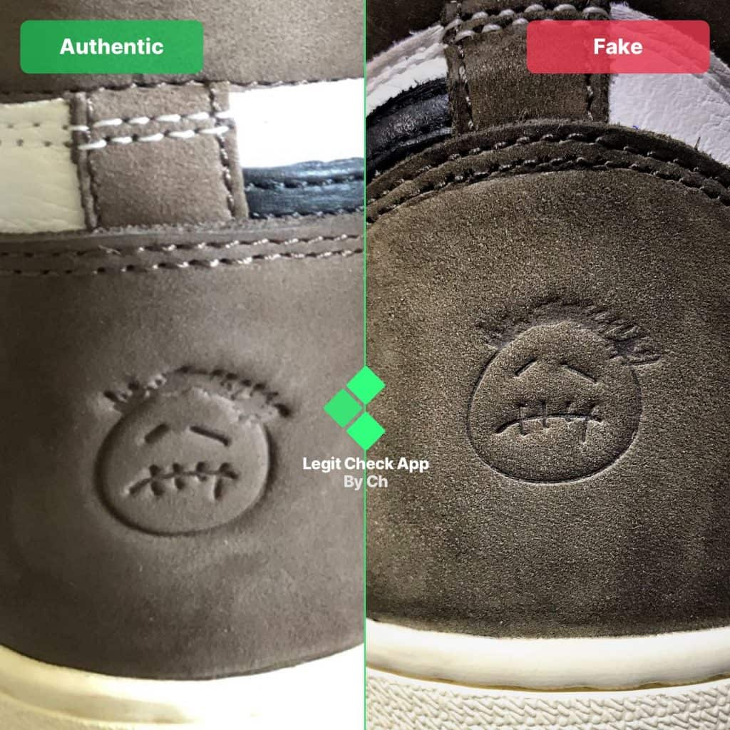 Travis Scott Jordan real vs fake