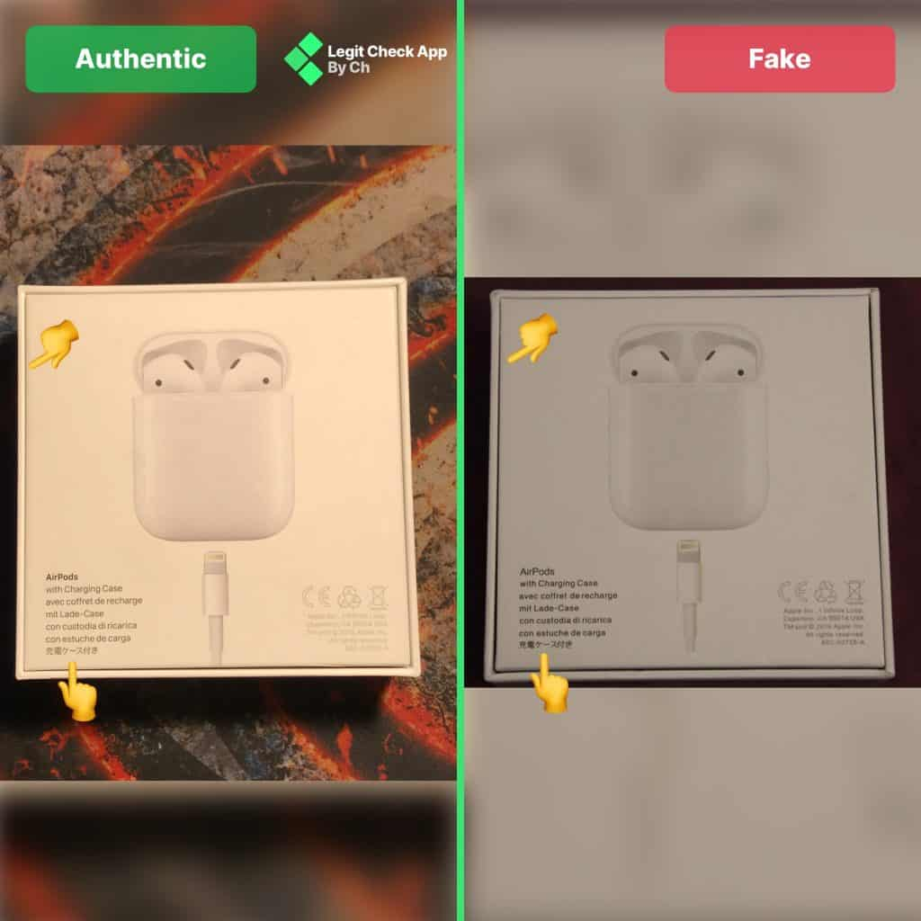 Airpods Fake Vs Real How To Spot Fake Airpods Legit Check By Ch