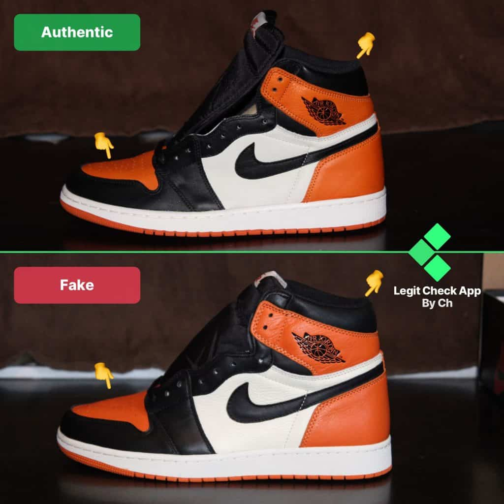 air jordan 1 fake vs real check guide
