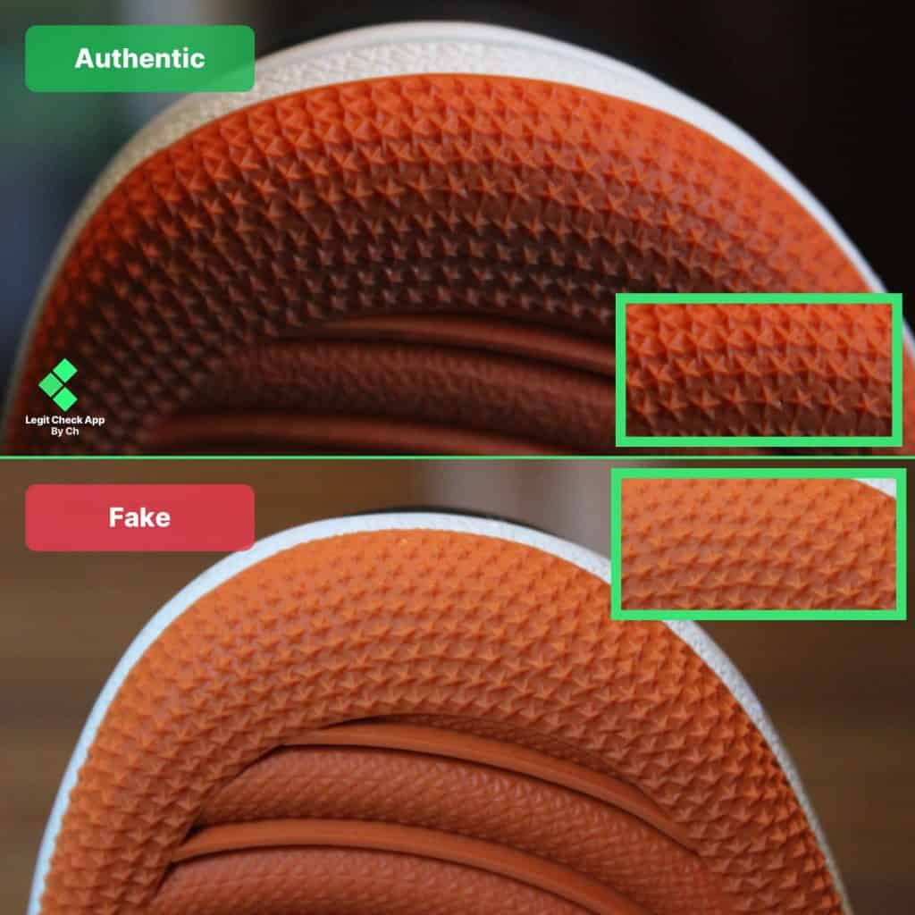 Air Jordan 1 sole pattern fake check guide