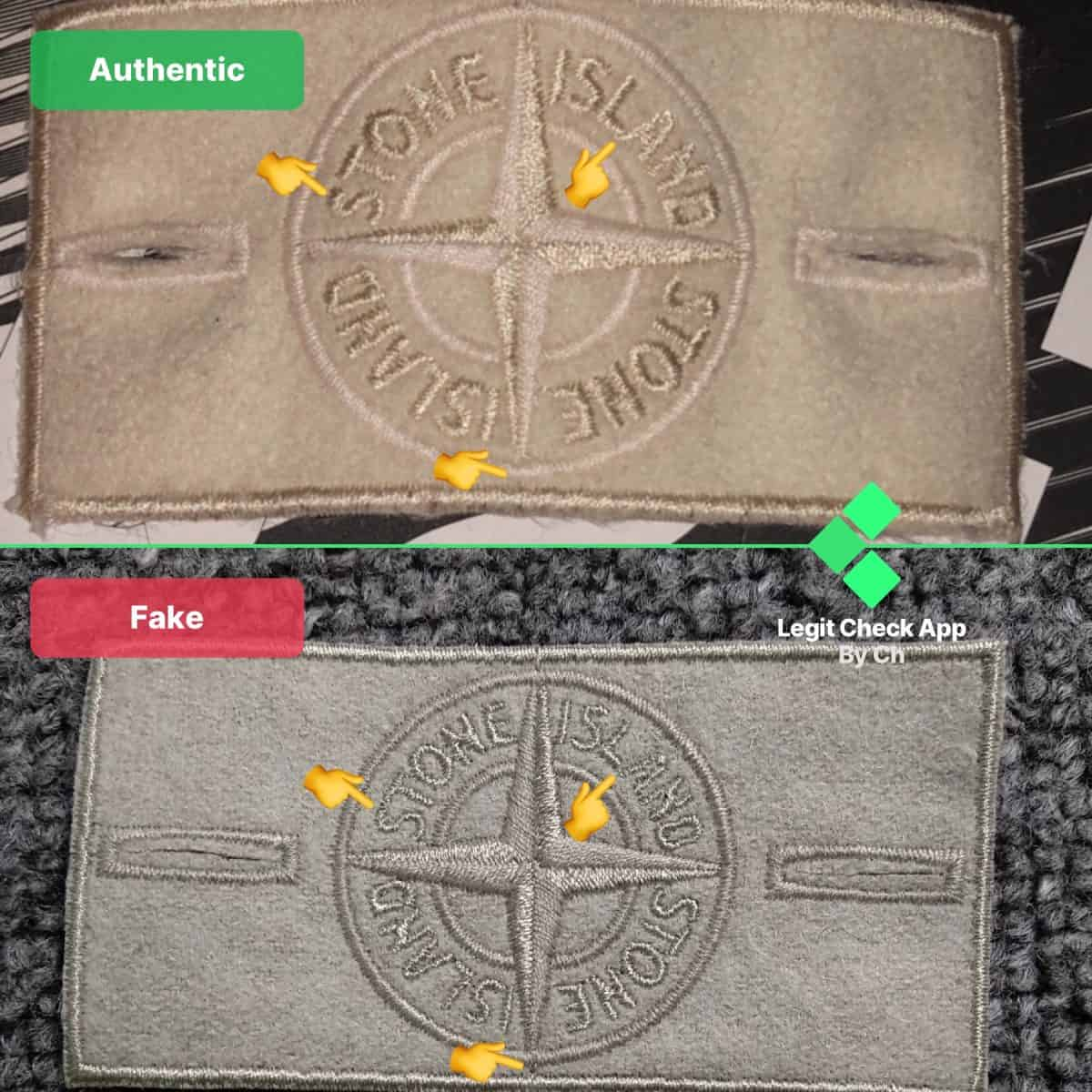 Stone Island Fake vs Real Guide
