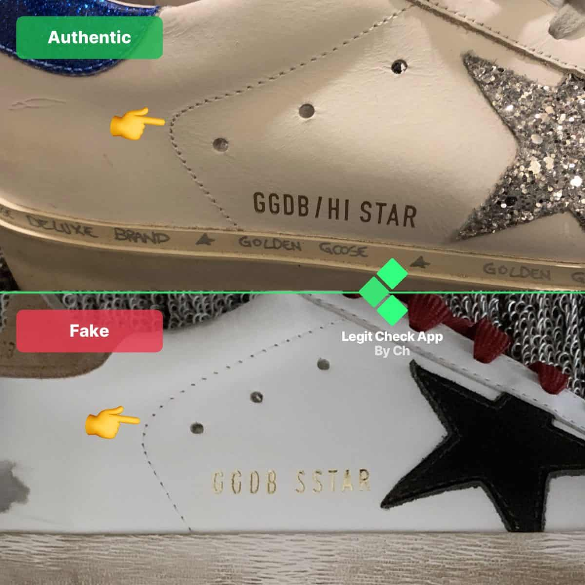 Golden Goose Real vs Fake