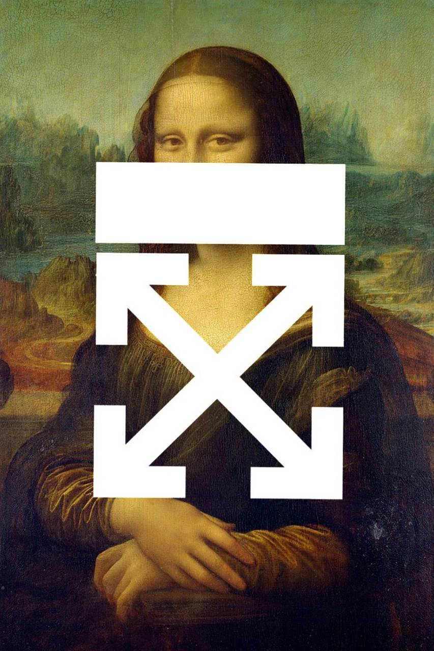 Off White Mona Lisa