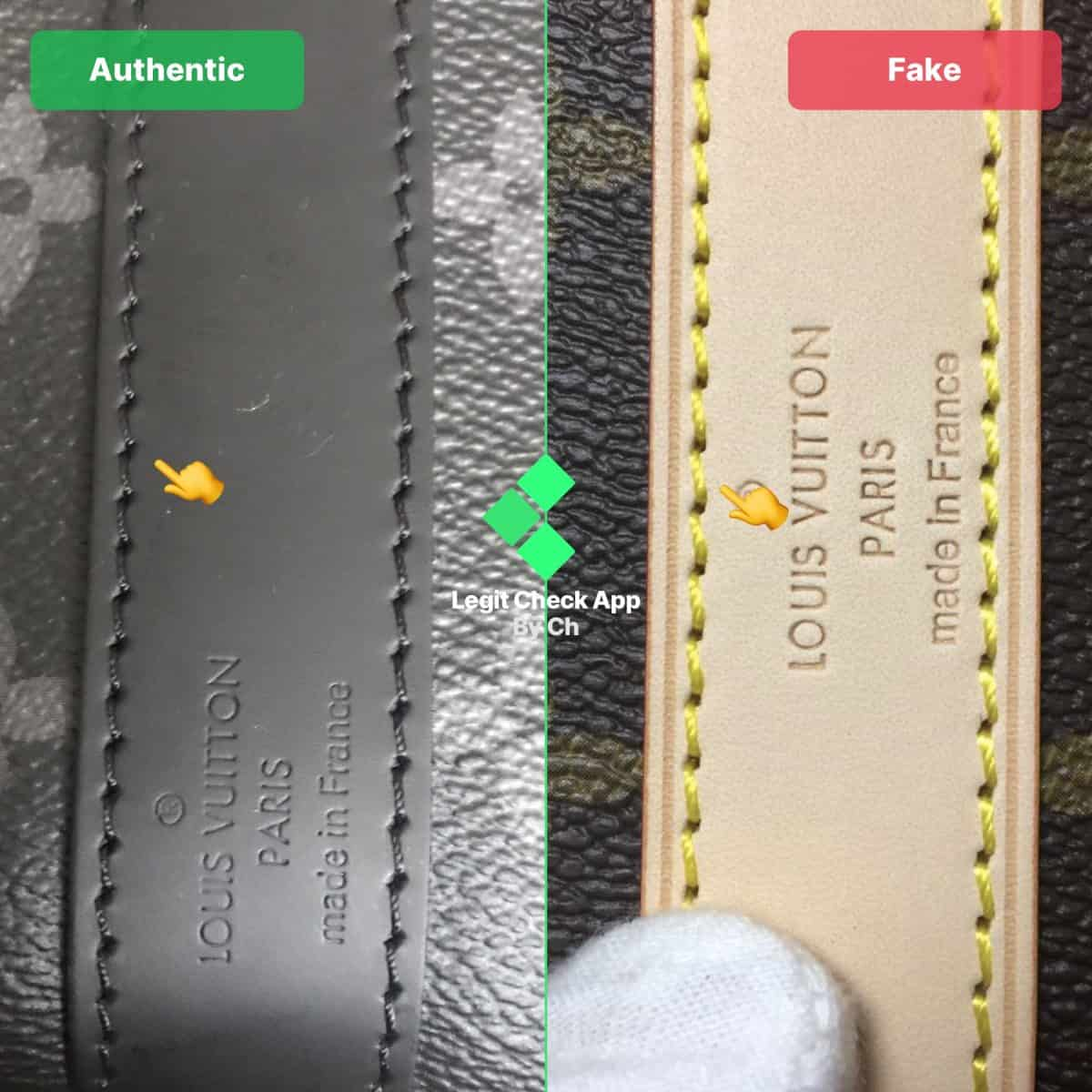 louis vuitton damier legit check