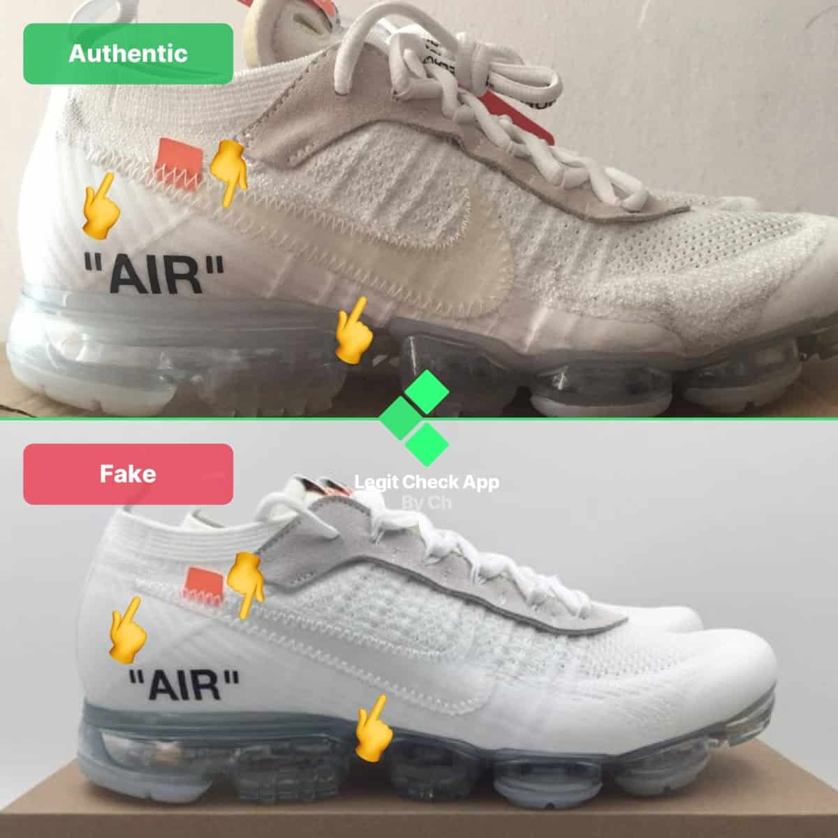 legit check off-white vapormax