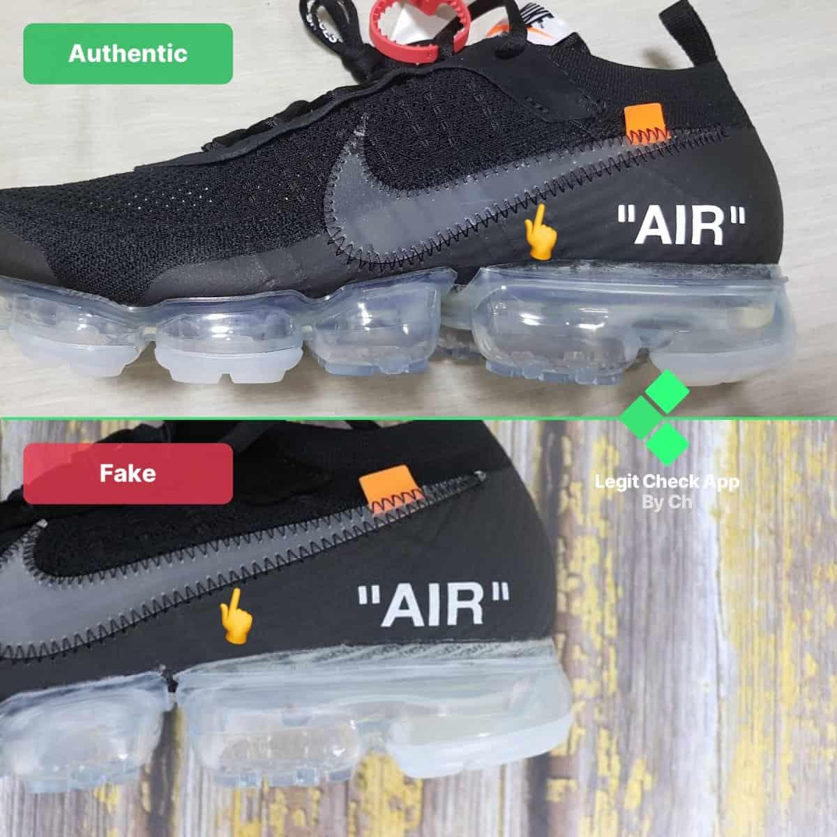 nike air max 2017 original vs replica