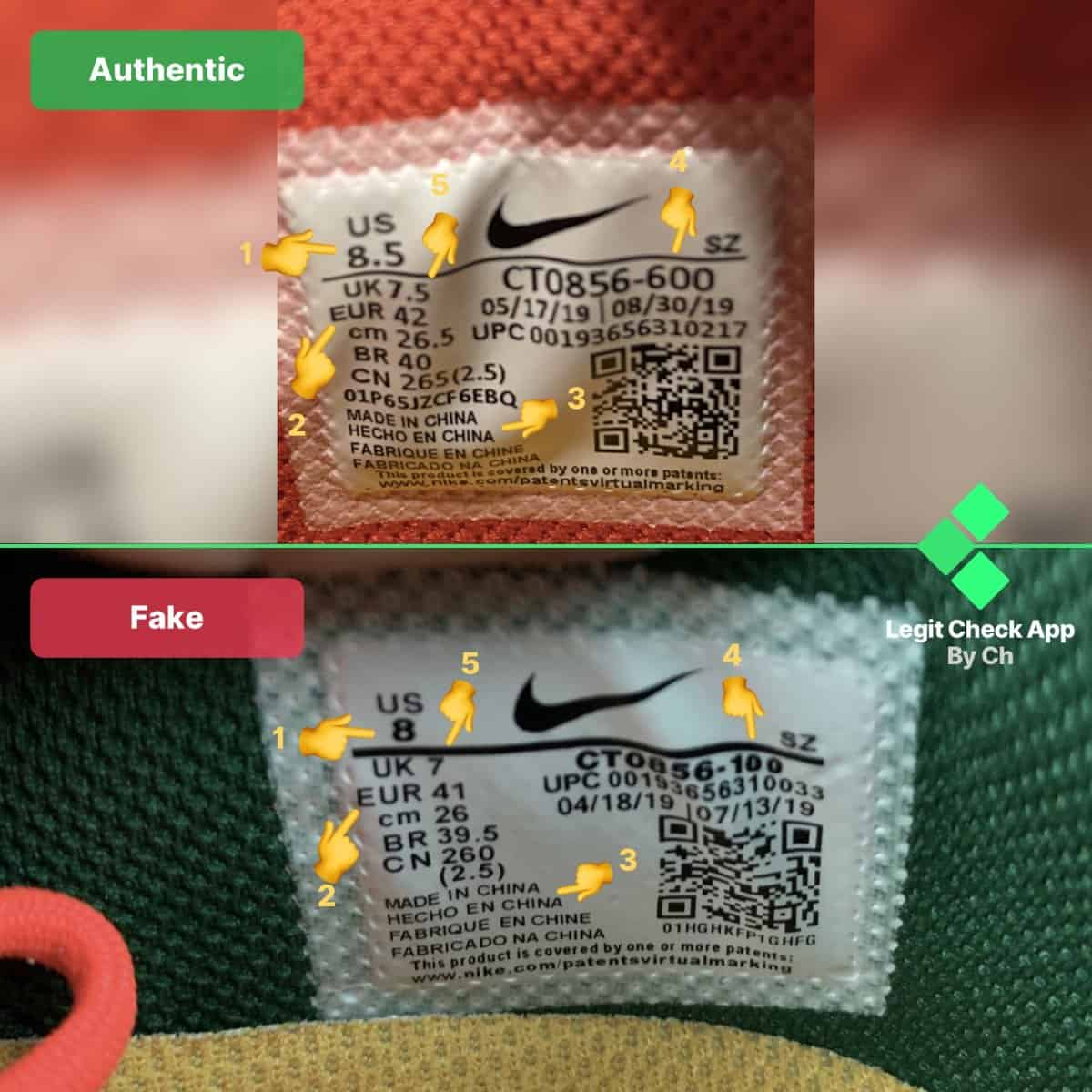 off white dunk real vs fake