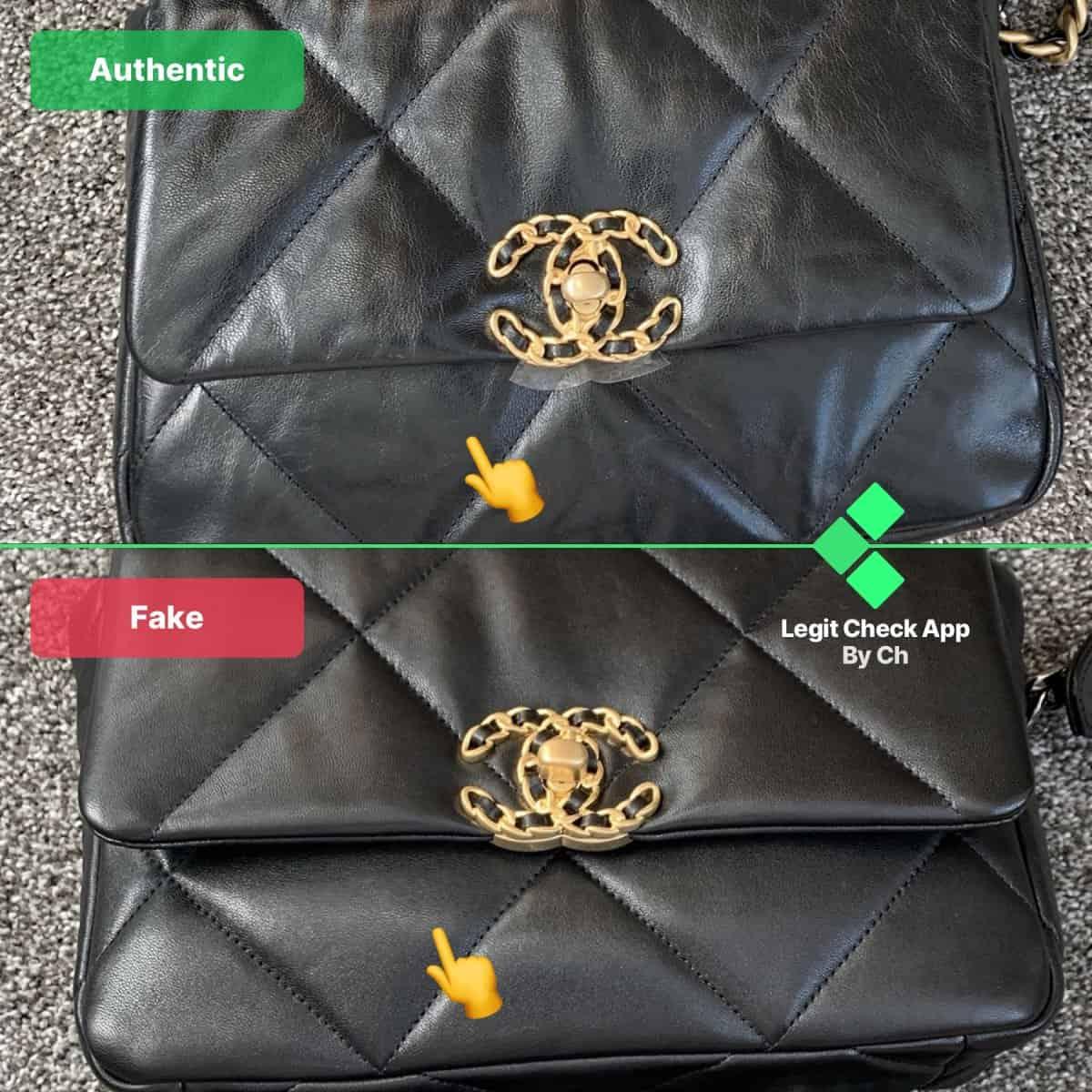 Real Vs Fake Chanel Bag