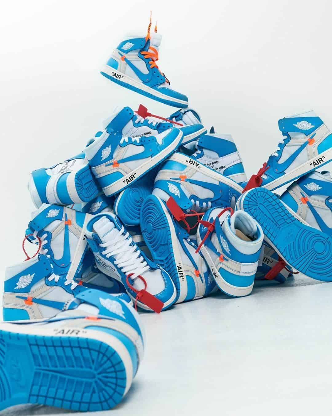 Fake Vs Real Off-White Air Jordan 1 UNC (Blue) Guide - Legit ...