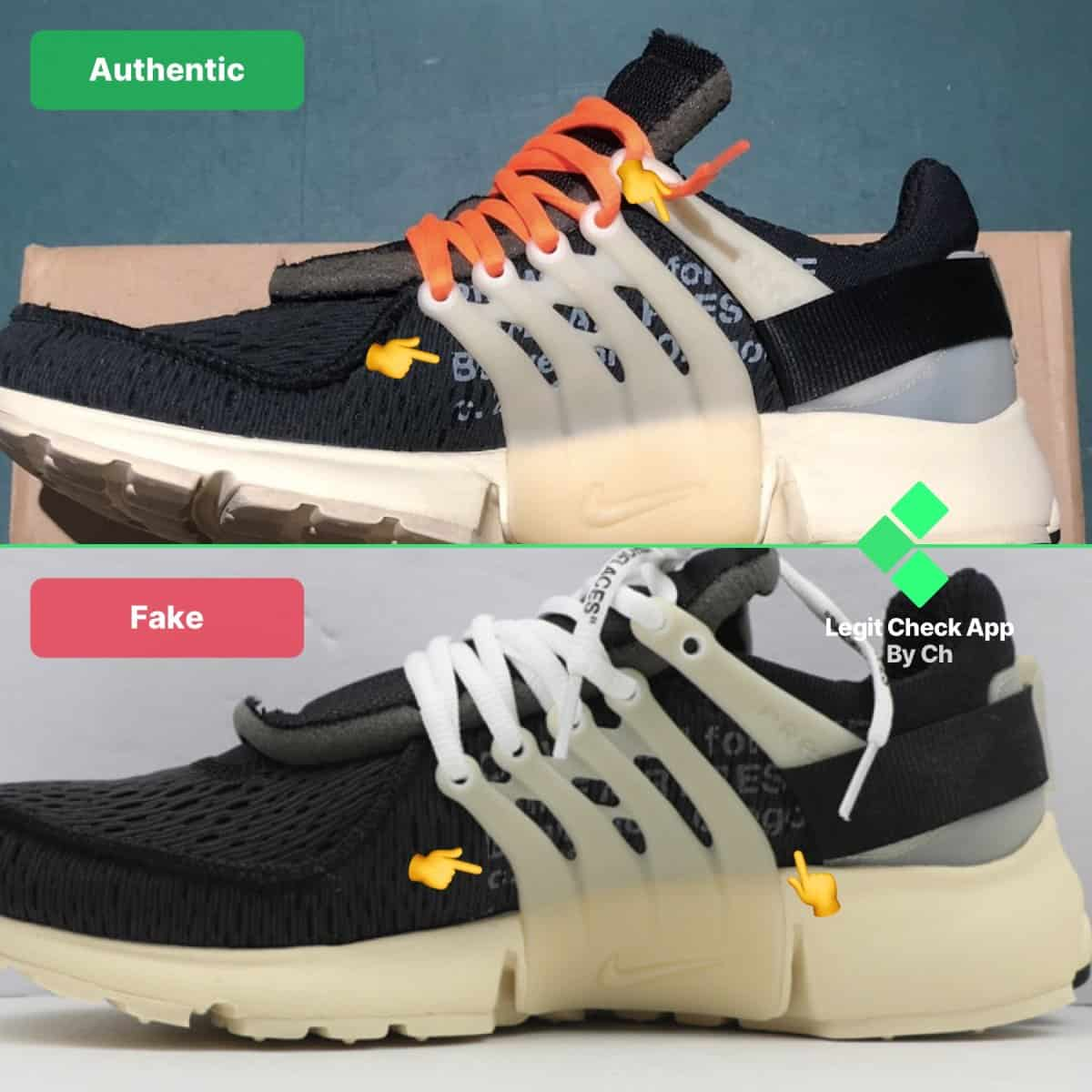 how to spot fake ow presto og