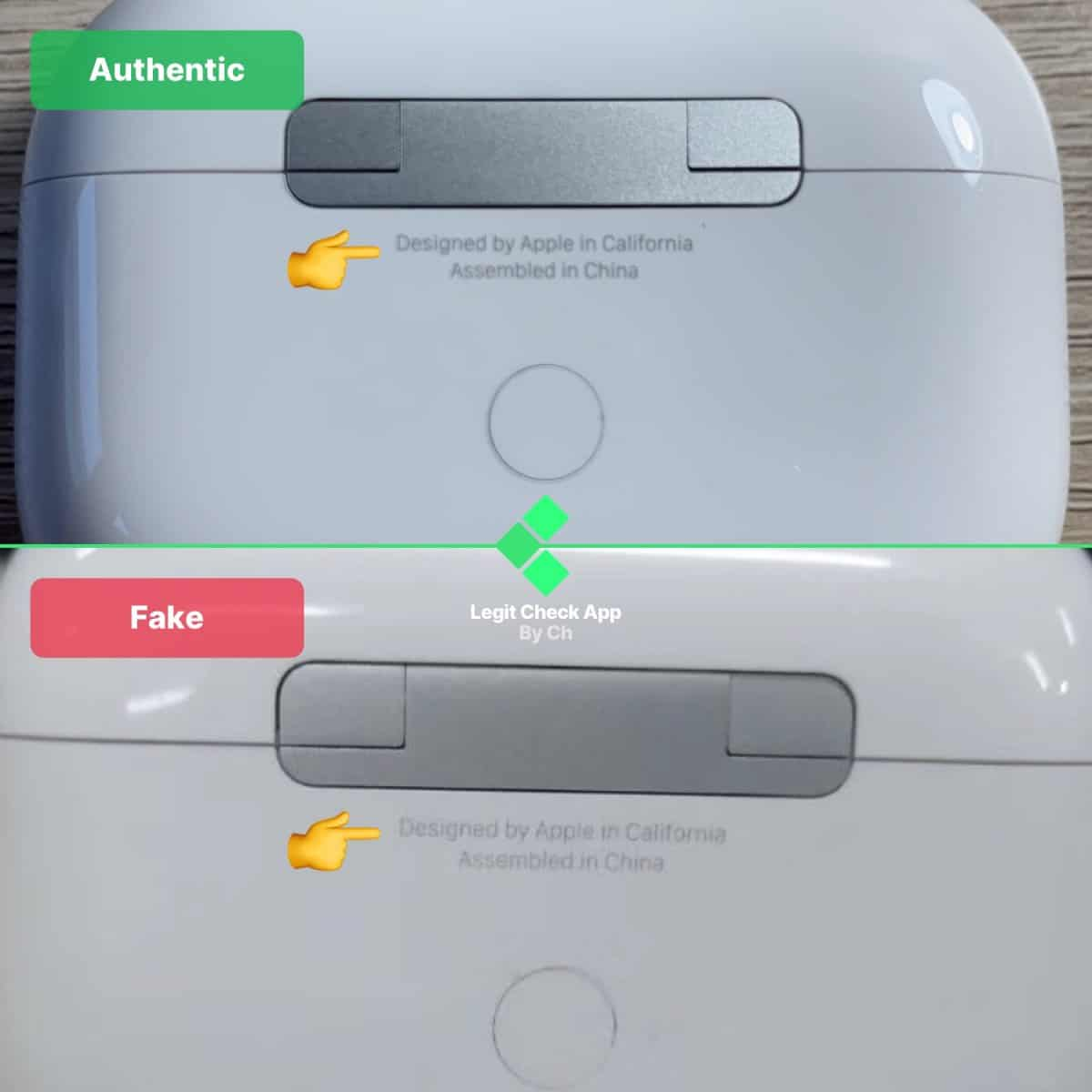 Apple Airpods Pro Real Vs Fake How To Spot Fake Airpods Pro Legit Check By Ch