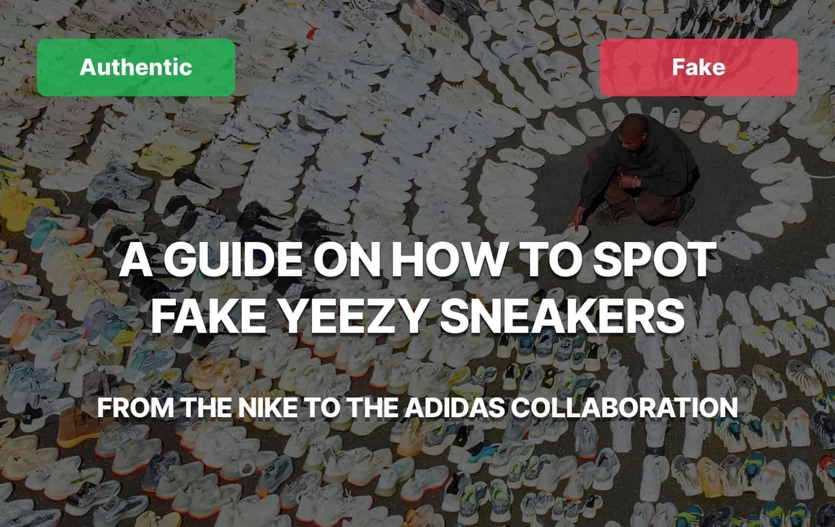 Fake Vs Real Yeezy Megapost