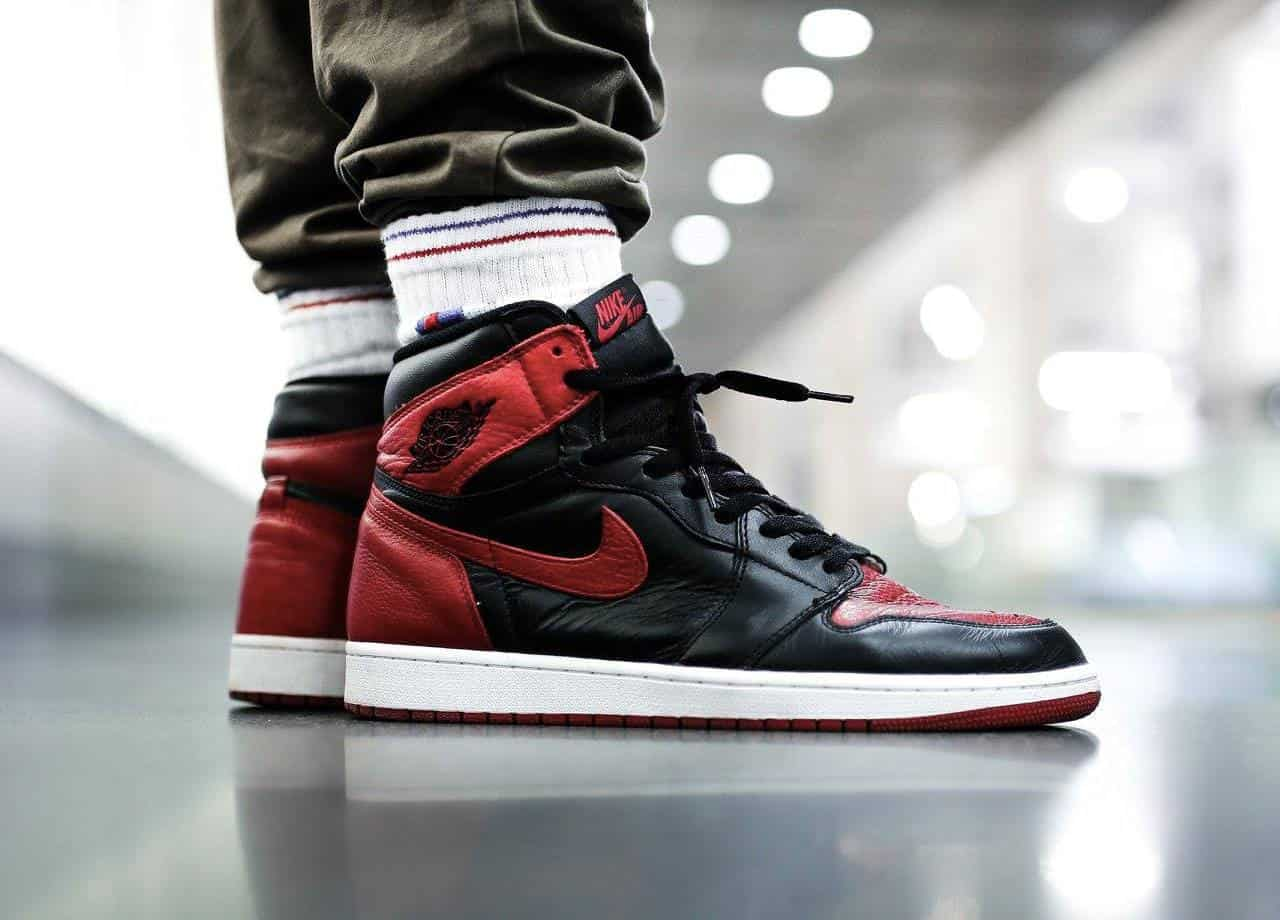 Air Jordan 1 Bred Banned Real Vs Fake