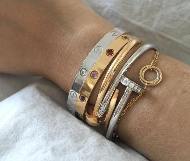 fake vs real cartier love bracelet