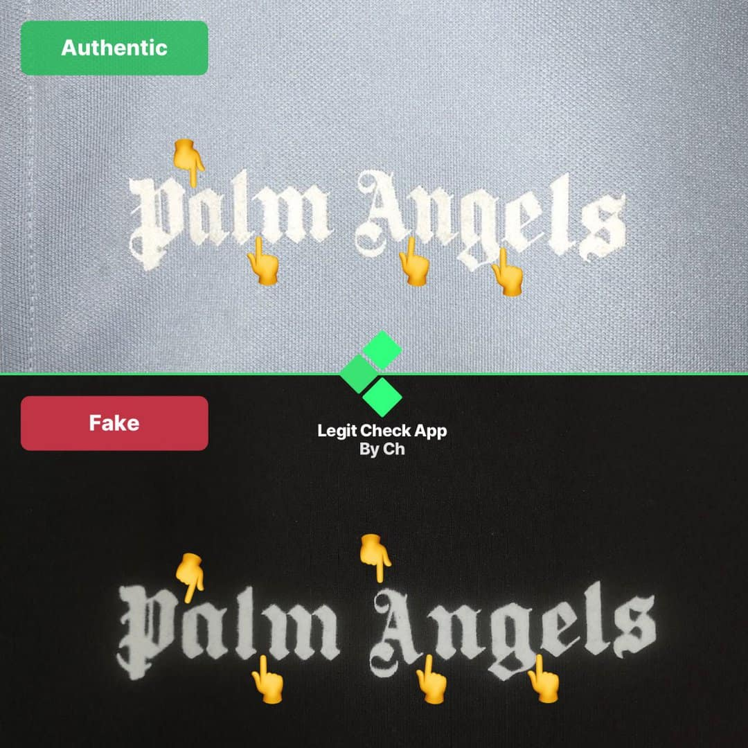 how to spot fake palm angels jacket