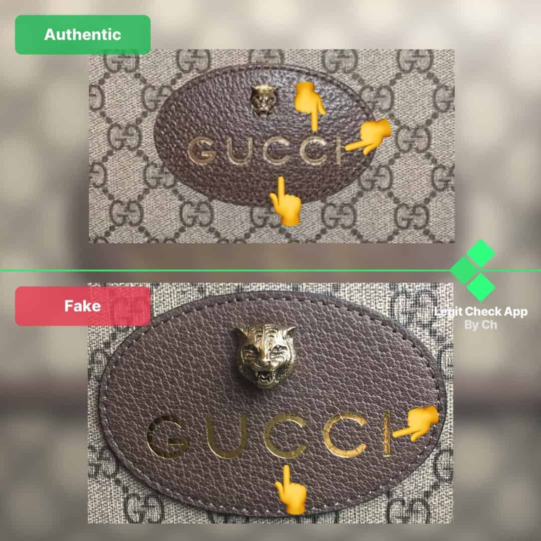 how to authenticat gucci supreme messenger bags