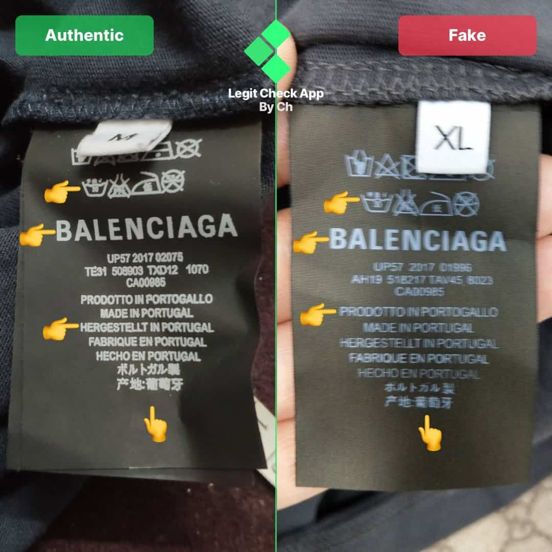real vs fake balenciaga speedhunters