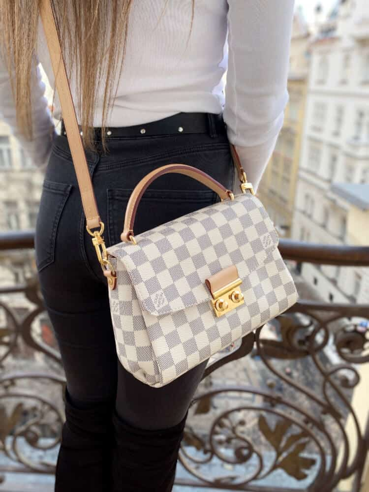 how to spot fake louis vuitton croisette bag