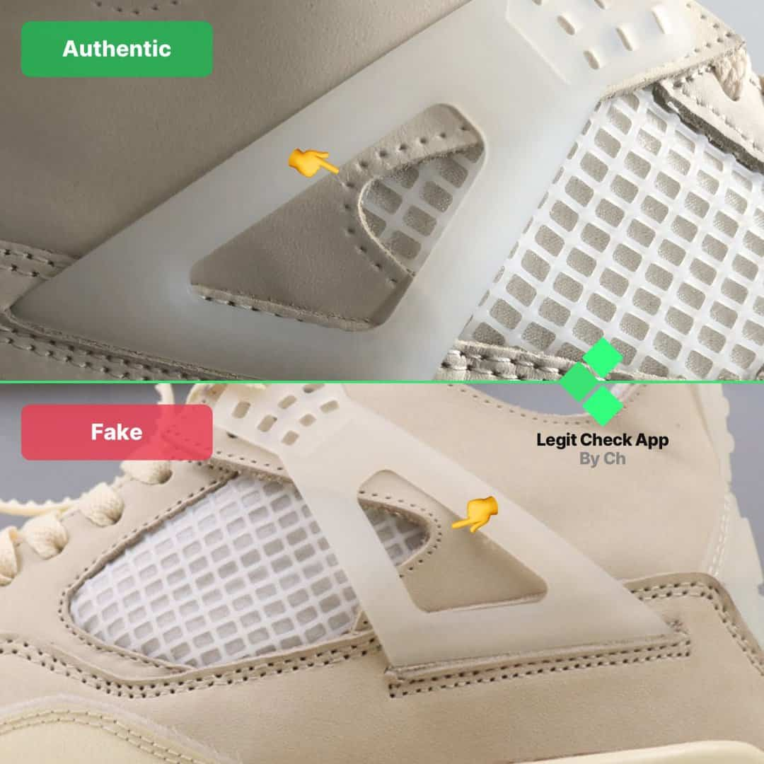 ow aj4 sail fake vs real