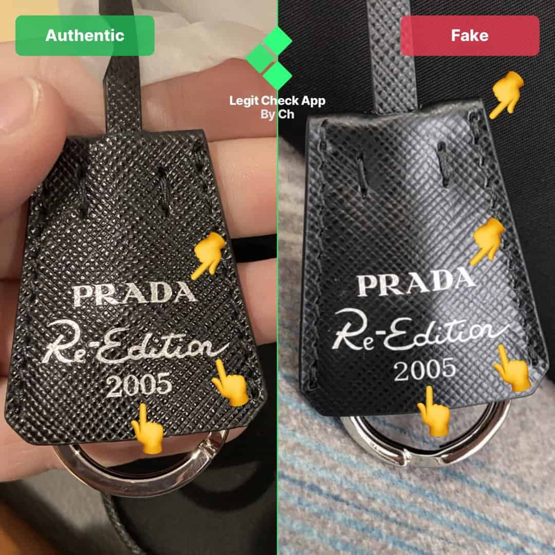 fake vs real prada 2005 bag