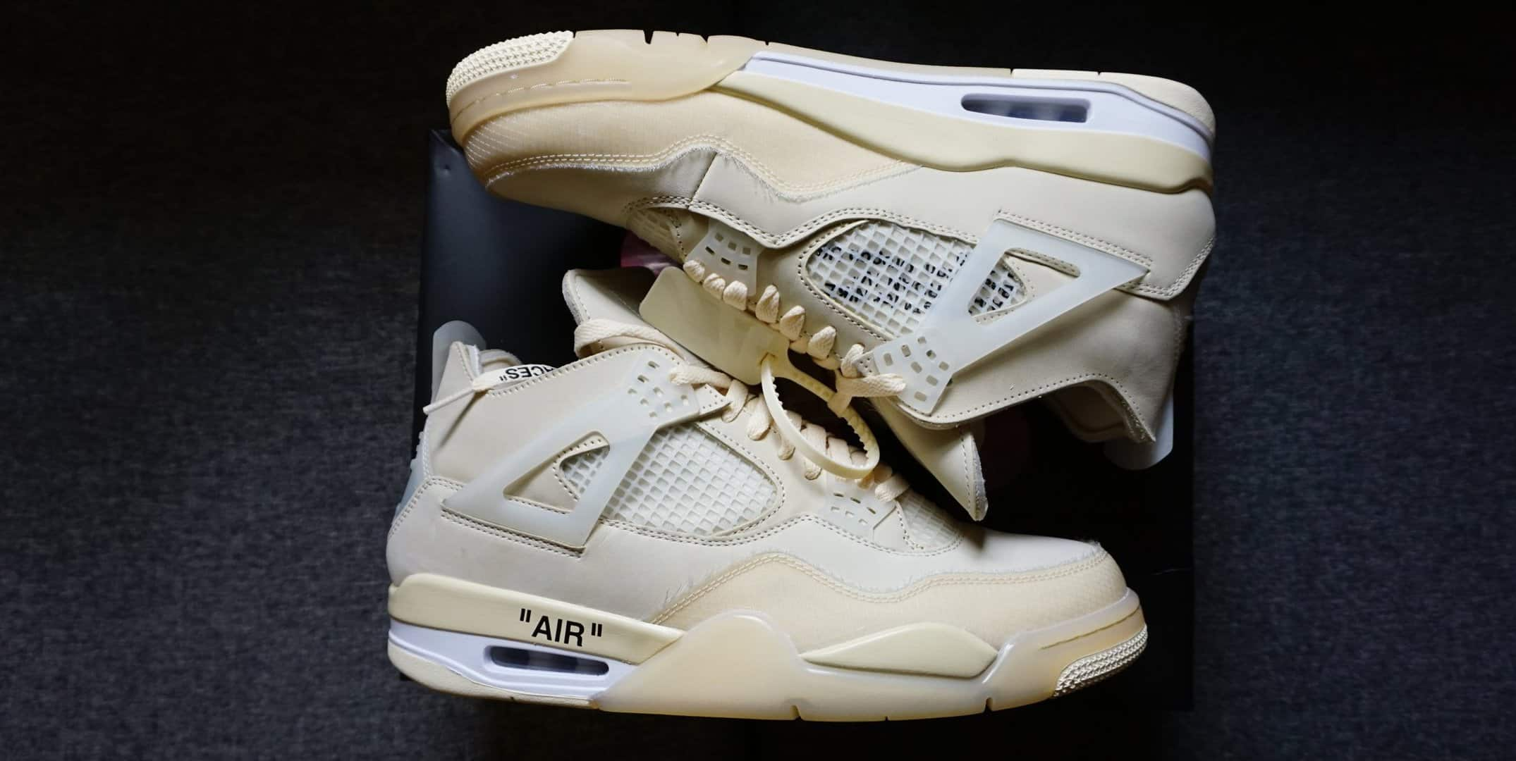 how to spot fake off white jordan 4