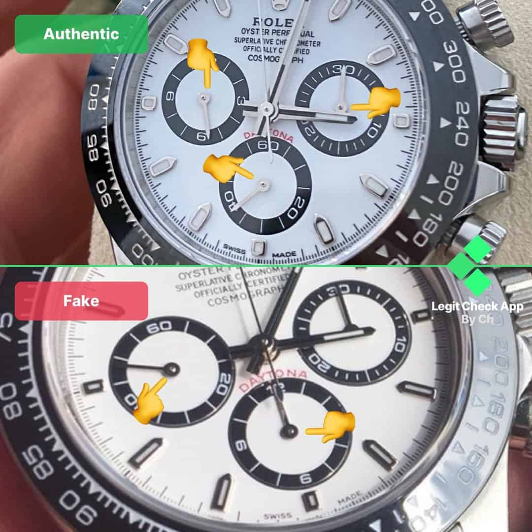 rolex daytona replica vs original