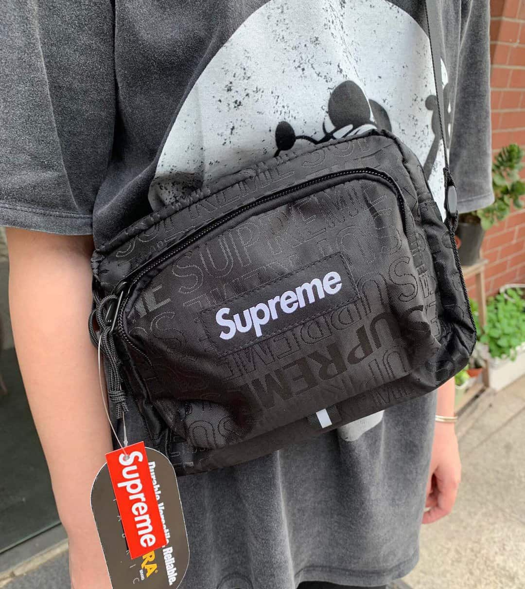 authentication supreme bag