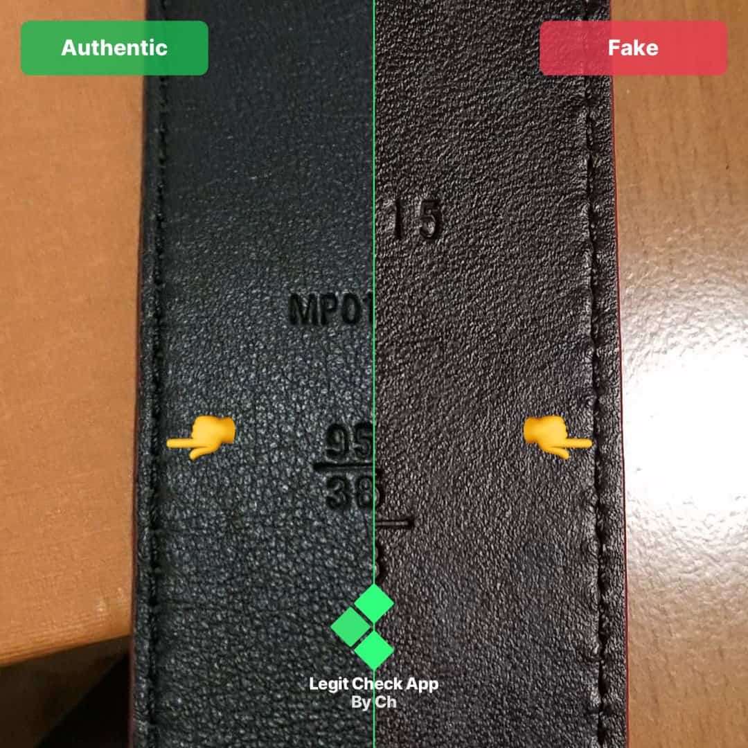 how to spot fake supreme lv belts