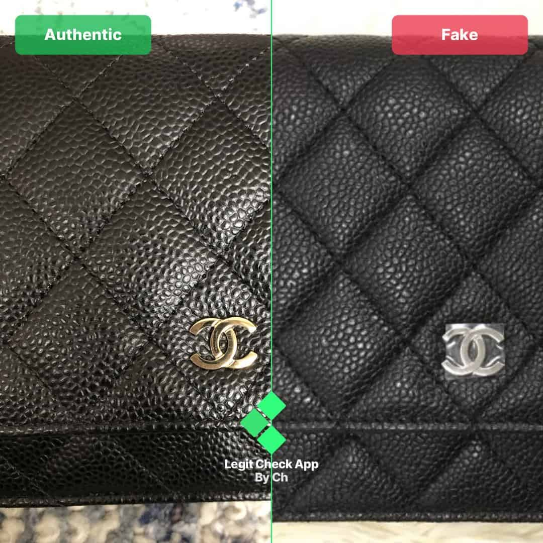 chanel woc bag real vs fake