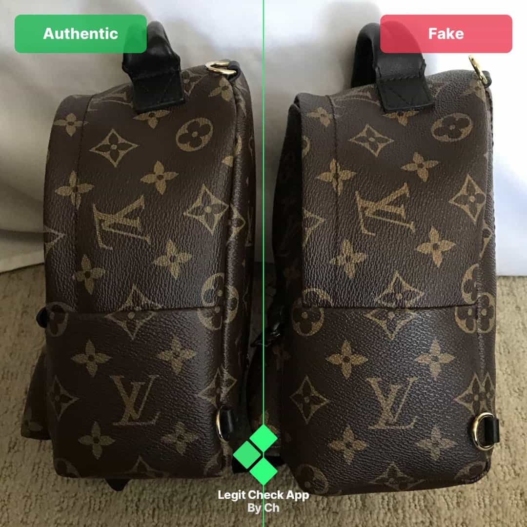 lv ps backpack real vs fake