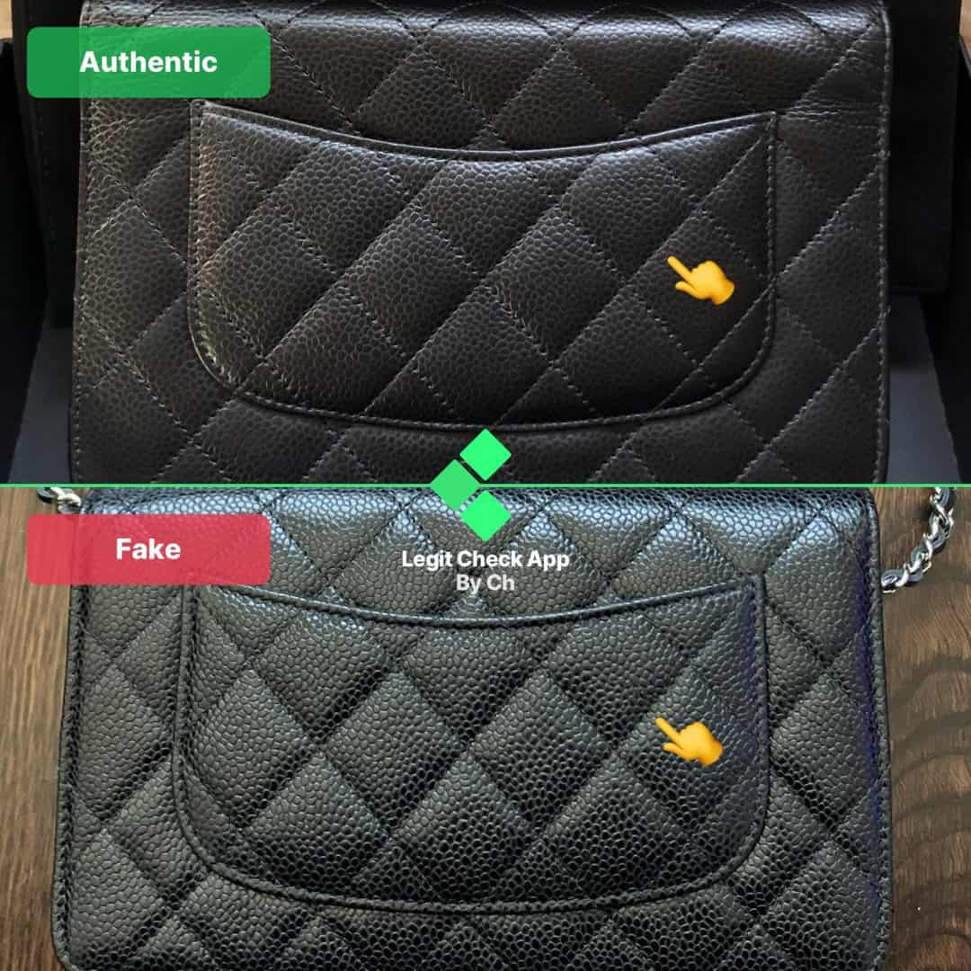real vs fake chanel woc