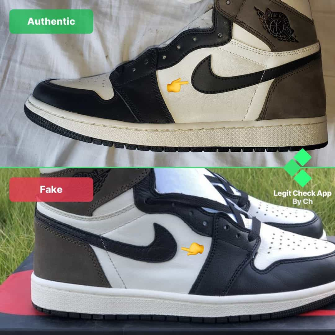 how to authenticate dark mocha air jordan 1