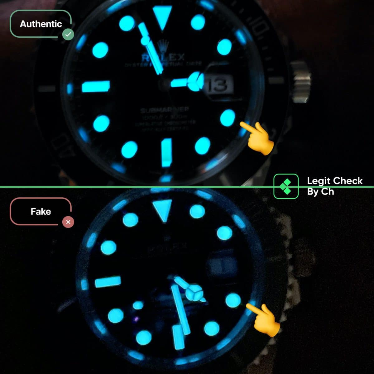 rolex submariner 2020 fake vs real guide