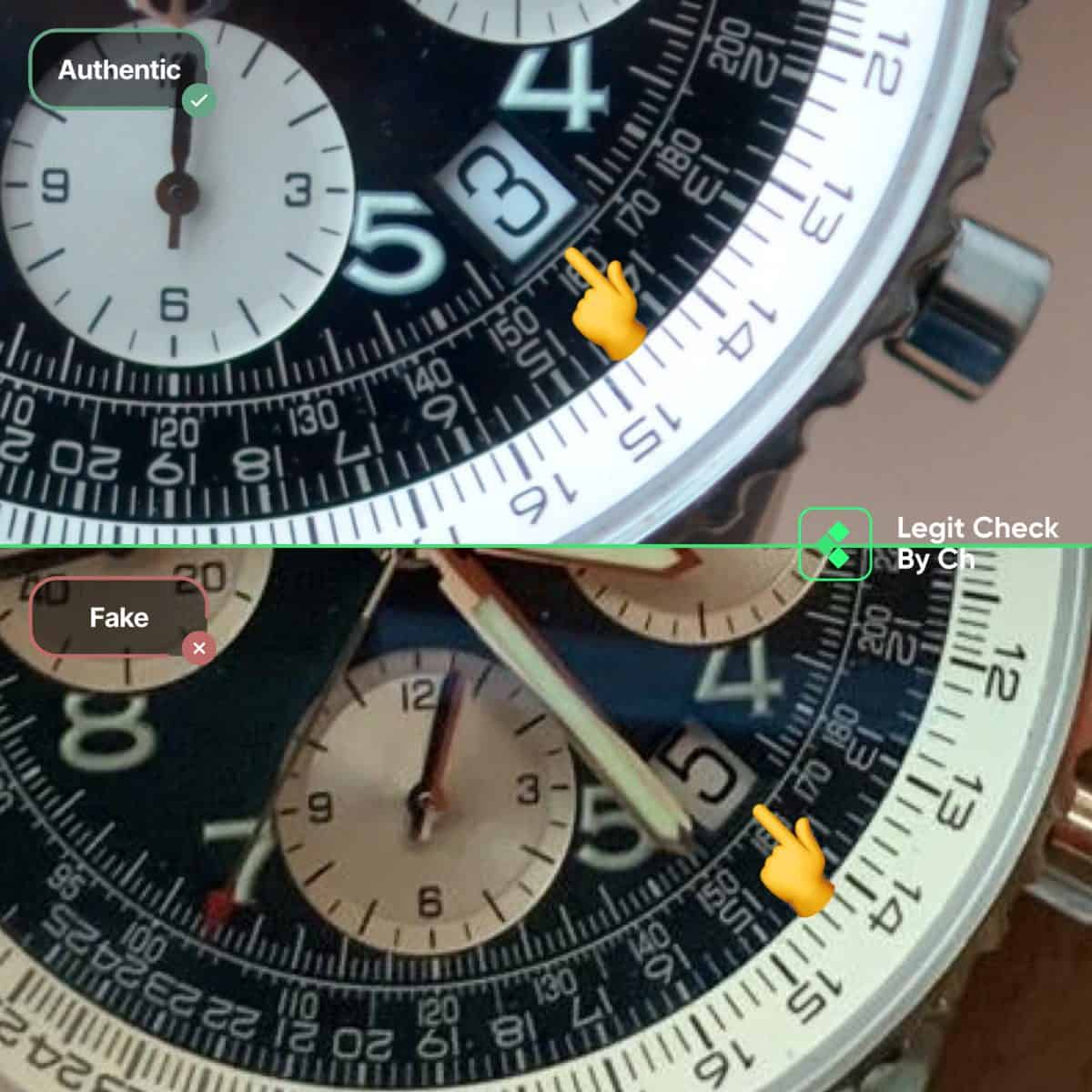 breitling navitimer authenticity check guide