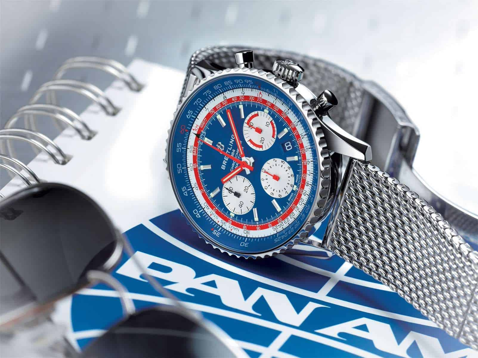 how to see a fake breitling navitimer watch