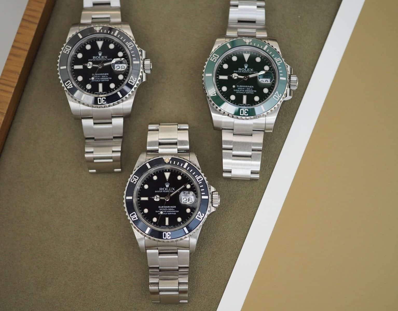 real vs fake rolexs ubmariner 2020