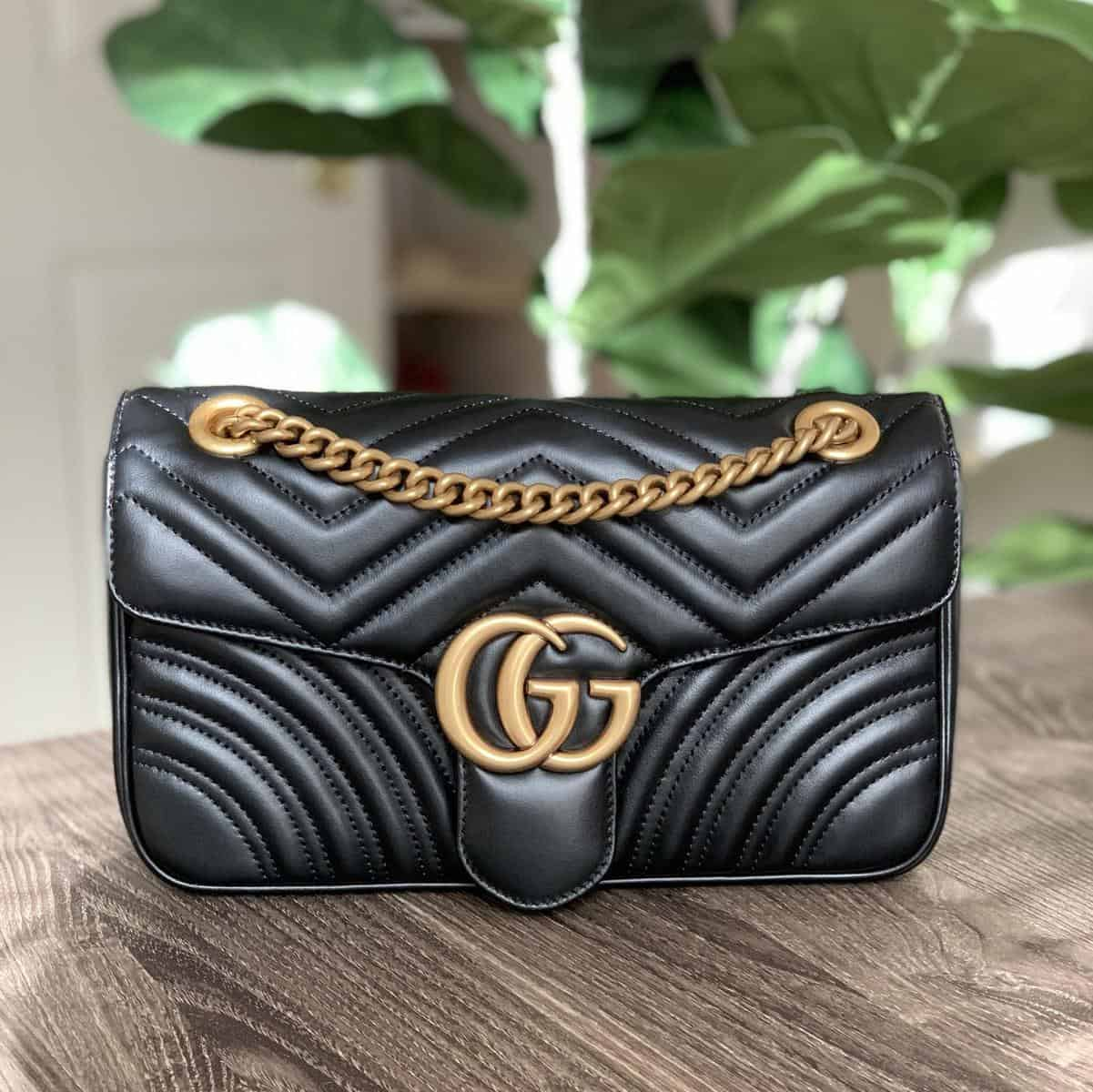 dupe vs authentic gucci gg bag