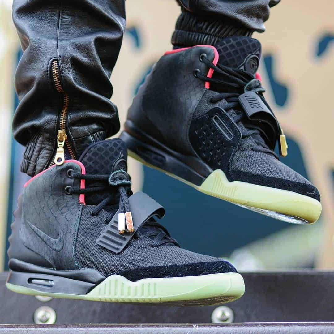 nike air yeezy 2 nrg solar red authentication