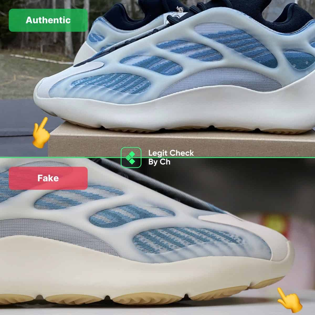 yeezy kyanite authenticity check guide