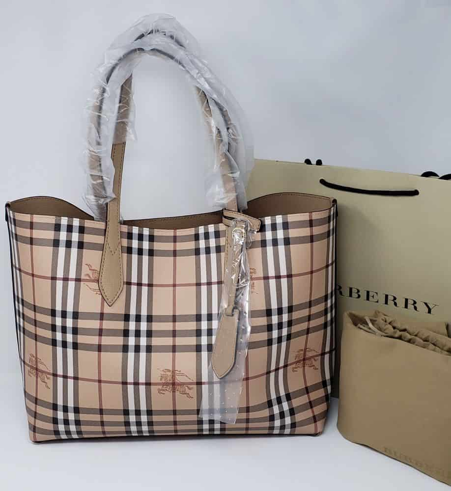 is my burberry bag fake