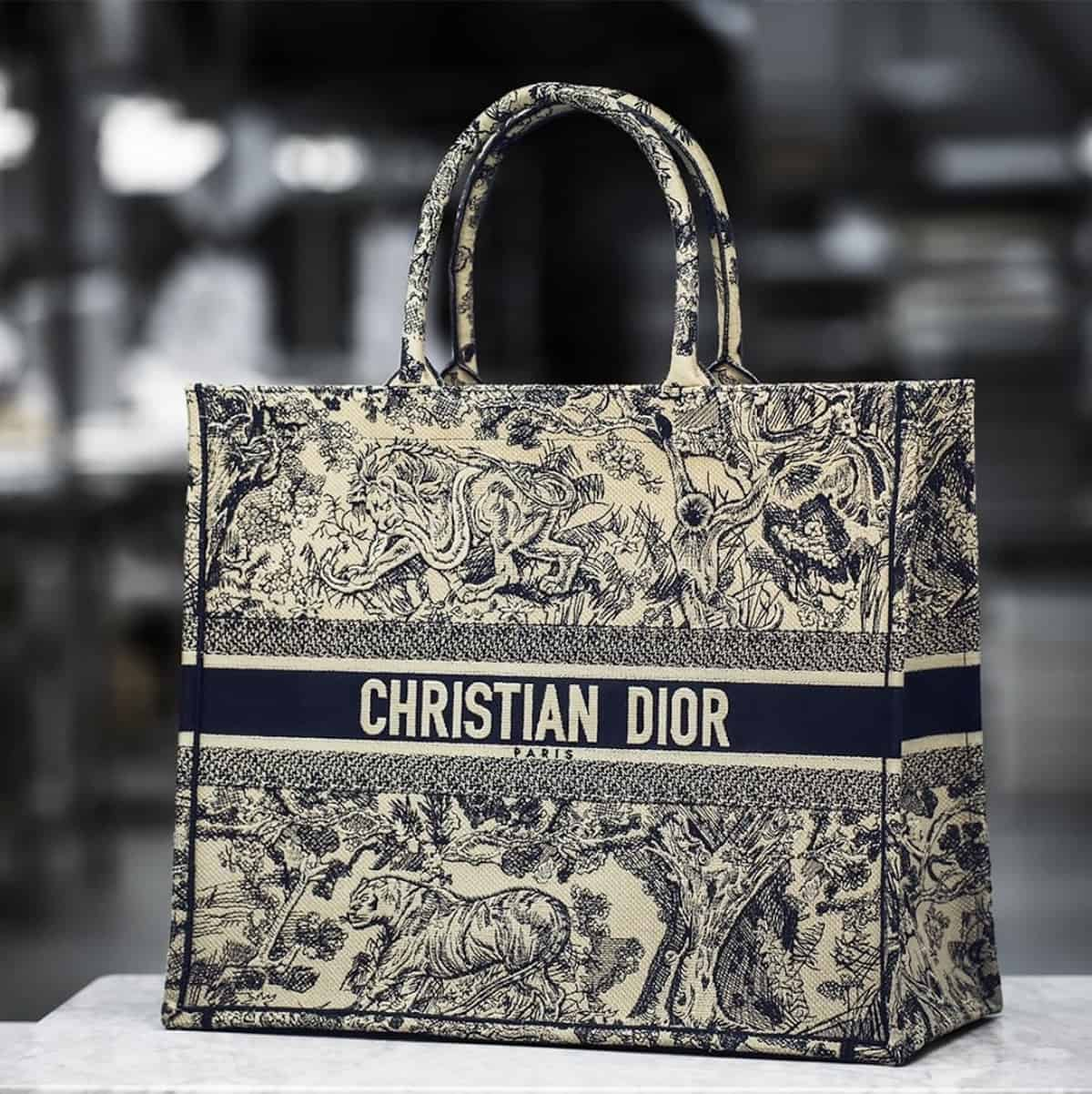 how to authenticate dior book totes
