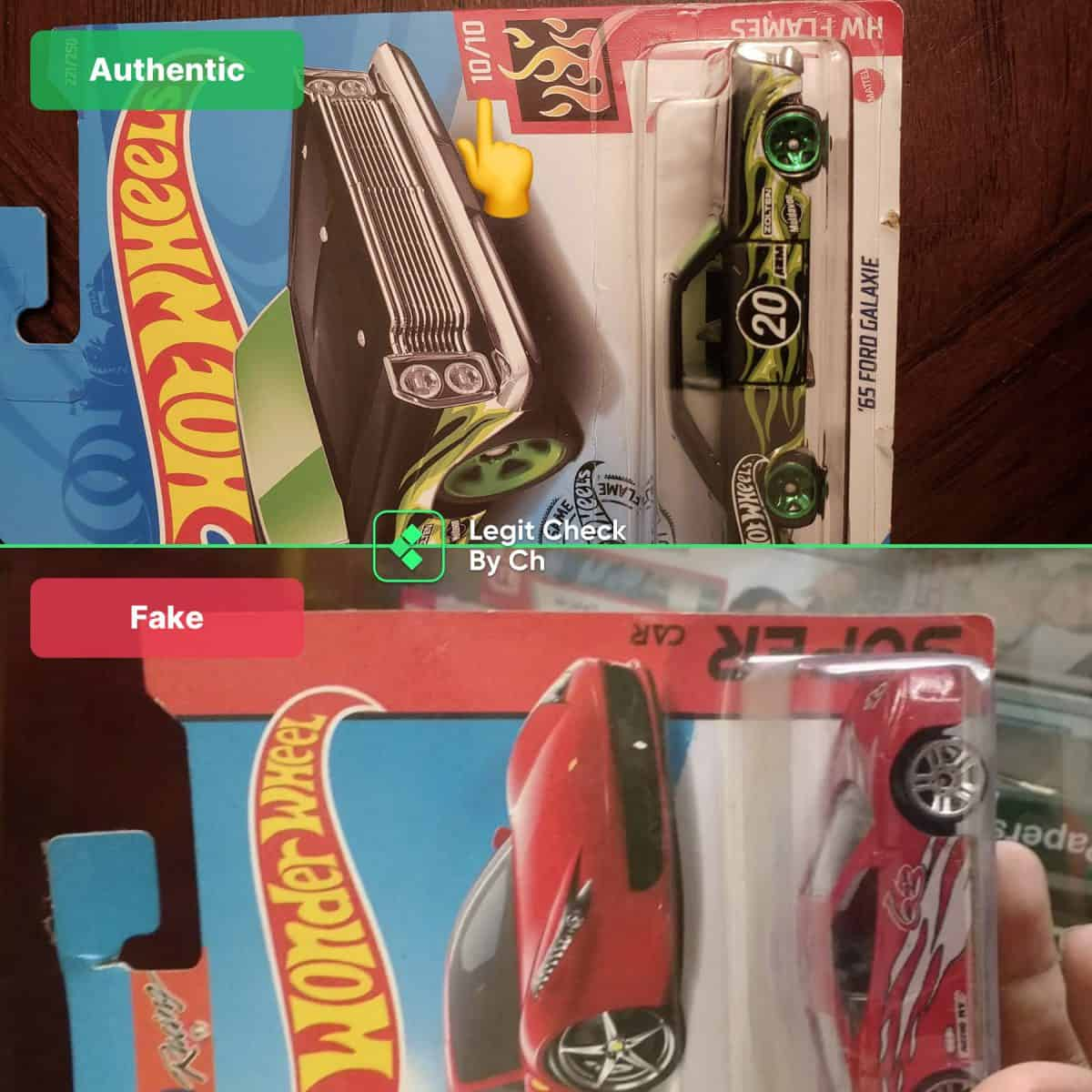 hot wheels toys authenticity check guide